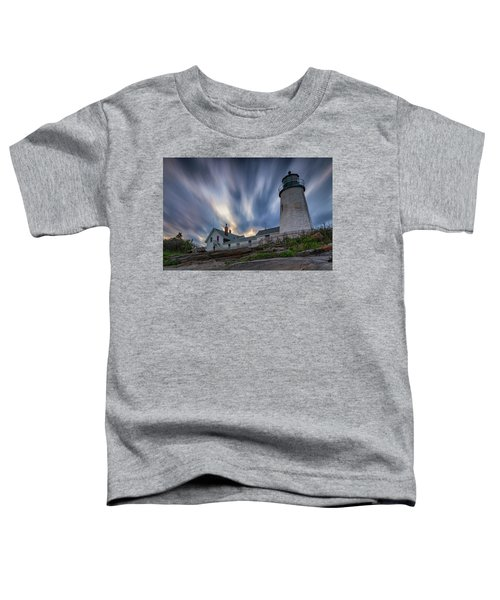 Cloudy Sunset At Pemaquid Point Toddler T-Shirt