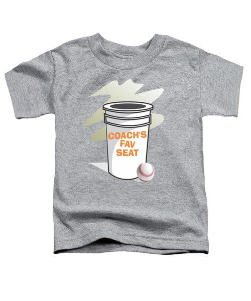 Coach's Favorite Seat Toddler T-Shirt