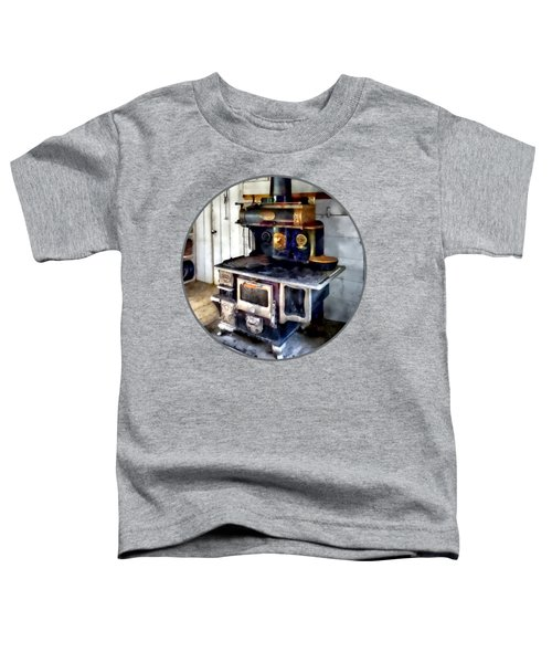 Coal Stove In Kitchen Toddler T-Shirt