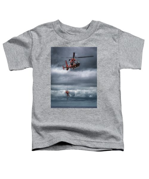 Coast Guard Rescue Operation  Toddler T-Shirt