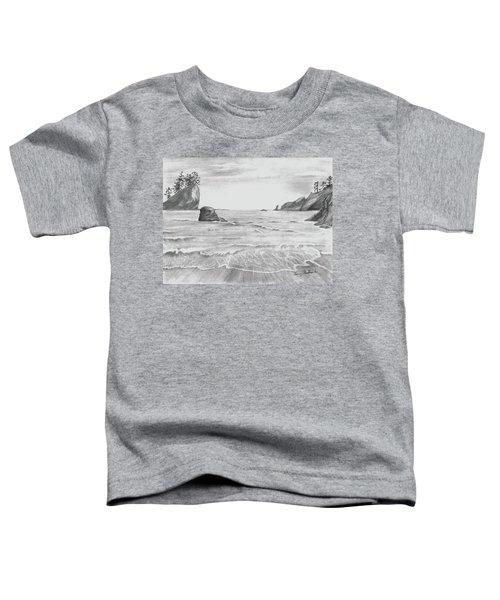 Coastal Beach Toddler T-Shirt