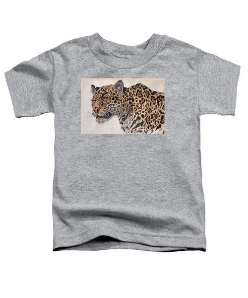 Cockscomb Jaguar Toddler T-Shirt