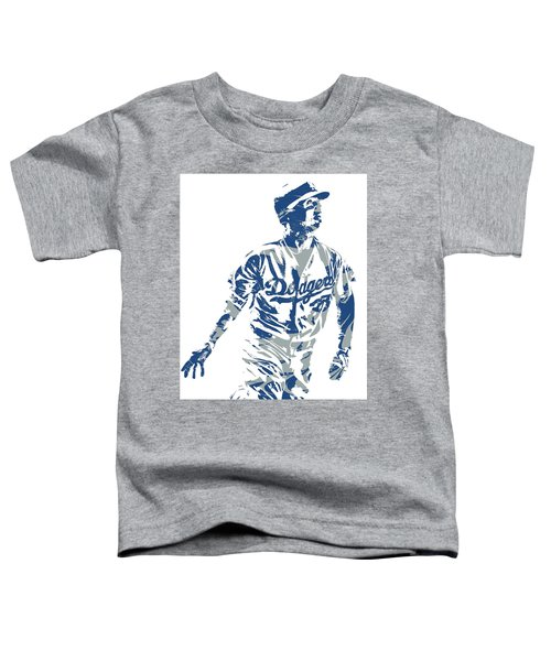 Cody Bellinger Los Angeles Dodgers Pixel Art 20 Toddler T-Shirt