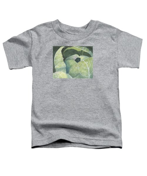 Cold Crop Toddler T-Shirt