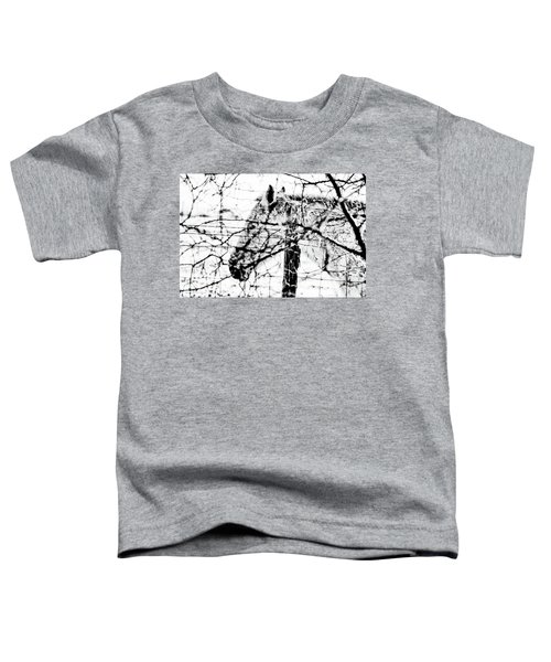 Cold Horse Toddler T-Shirt