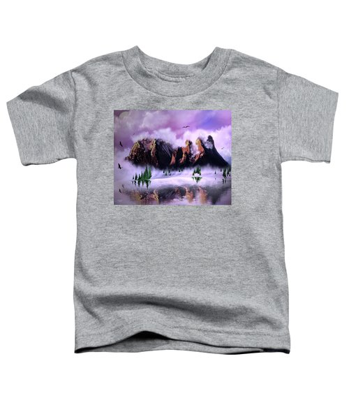 Cold Mountain Morning Toddler T-Shirt