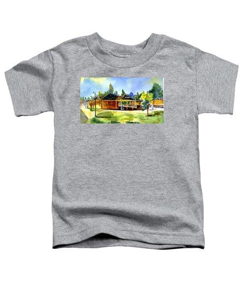 Colfax Rr Depot Toddler T-Shirt