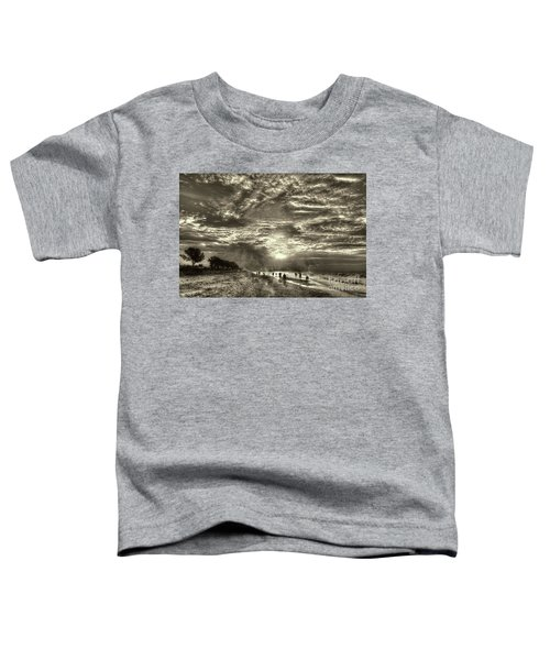 Collecting Seashells On Sanibel Island Toddler T-Shirt