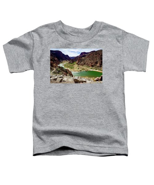 Colorado River Around Boat Beach Toddler T-Shirt