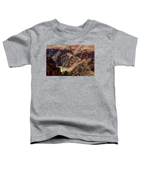 Colorado River From The South Kaibab Trail Toddler T-Shirt