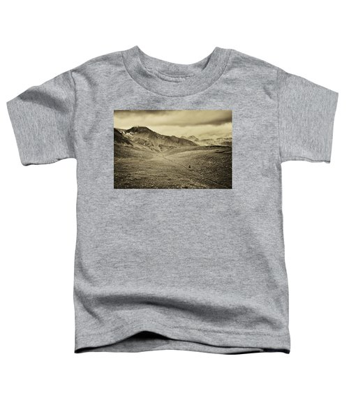 Toddler T-Shirt featuring the photograph Colorado Trail  by Whit Richardson