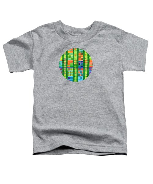 Colored Fields With Bamboo Toddler T-Shirt