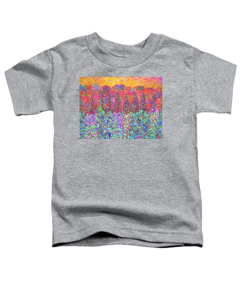 Colorful Garden Toddler T-Shirt