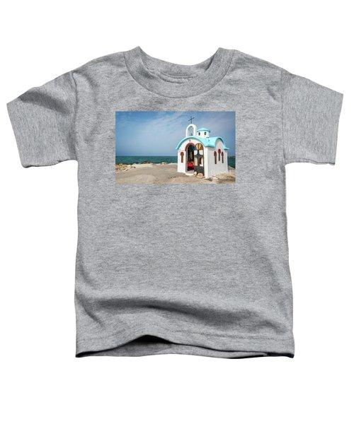 Colorful Greek Chapel Toddler T-Shirt