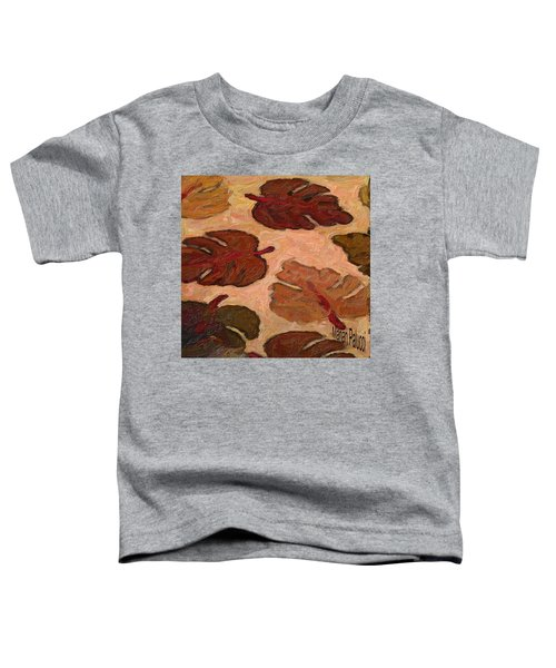 Colorful Leaves Toddler T-Shirt