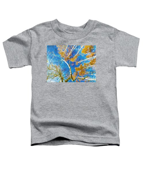 Colorful Mystical Forest Toddler T-Shirt