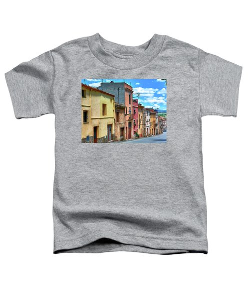 Colorful Old Houses In Tarragona Toddler T-Shirt