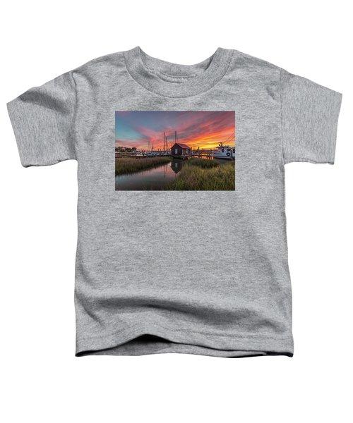 Colors Of Shem Creek - Mt. Pleasant Sc Toddler T-Shirt