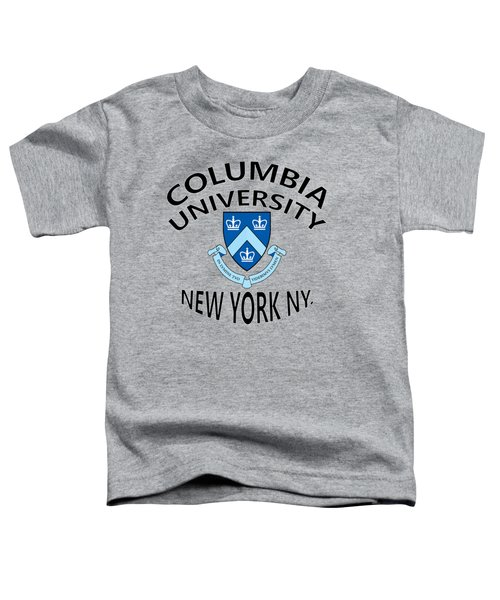 Columbia University New York Toddler T-Shirt by Movie Poster Prints