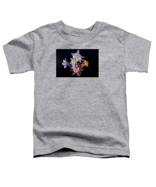 Toddler T-Shirt featuring the photograph Columbine Medley by Gary Lengyel
