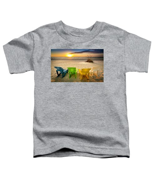 Come Relax Enjoy Toddler T-Shirt