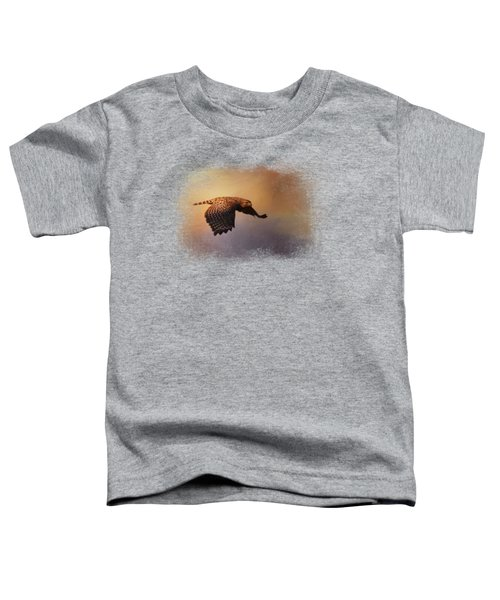 Coming In For The Evening Toddler T-Shirt by Jai Johnson