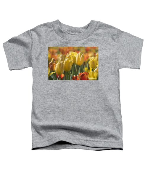 Coming Up Tulips Toddler T-Shirt