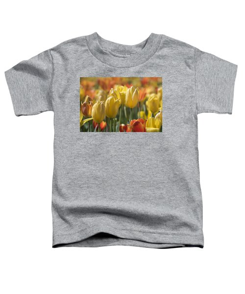 Coming Up Tulips Toddler T-Shirt