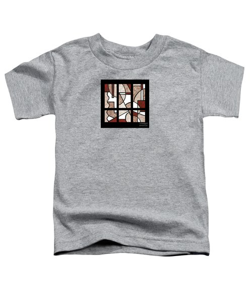 Compartments Six Panels Toddler T-Shirt