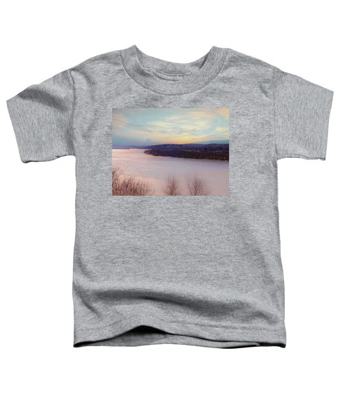Connecticut River View From Gillette Castle. Toddler T-Shirt