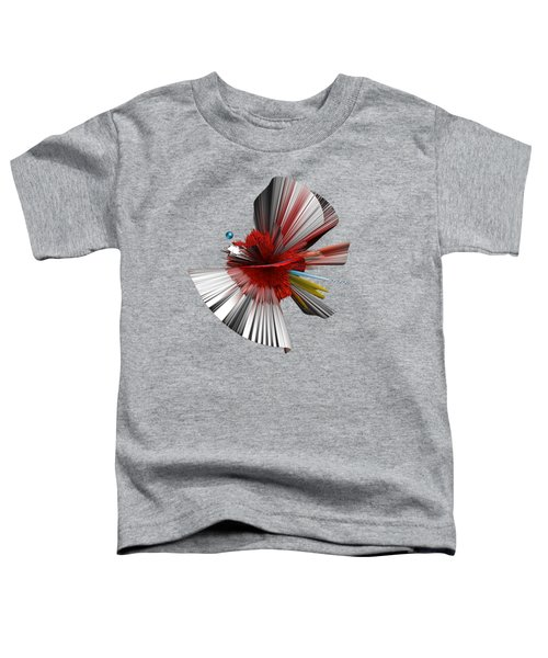 Consciousness Of The Inanimate Painting As A Spherical Depth Map. C Toddler T-Shirt
