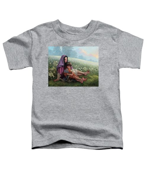 Consider The Lilies Toddler T-Shirt