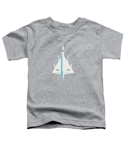 B-58 Hustler Supersonic Jet Bomber - Slate Toddler T-Shirt