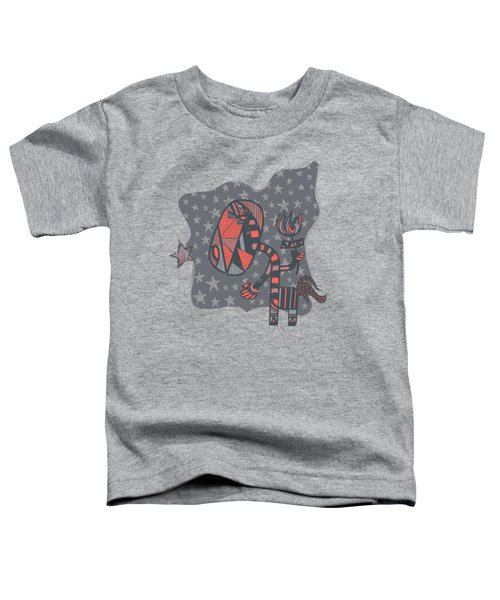 Conversation Toddler T-Shirt by Neku Irodan