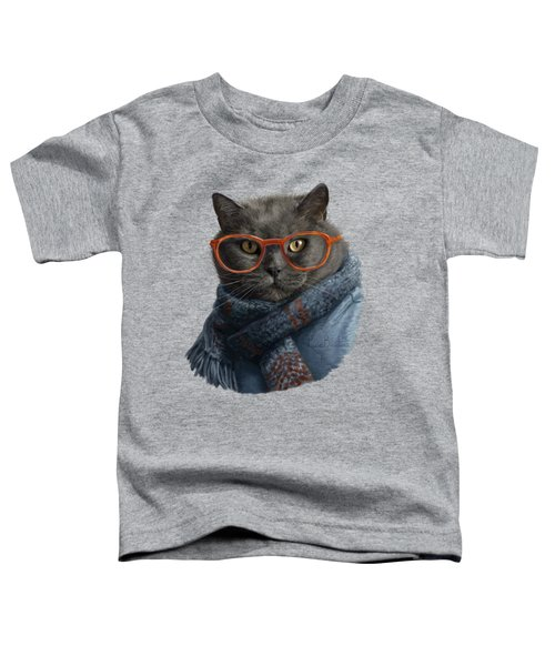 Cool Cat Toddler T-Shirt