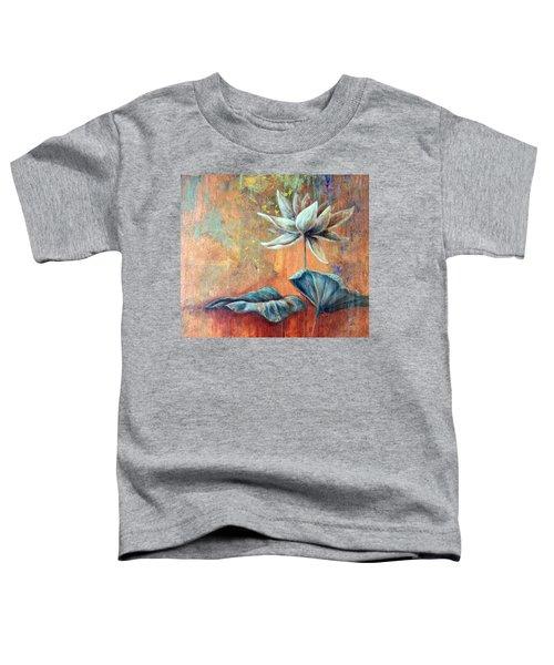 Copper Lotus Toddler T-Shirt