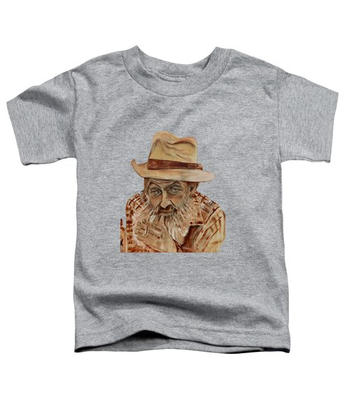 Coppershine Popcorn Bust - T-shirt Transparency Toddler T-Shirt