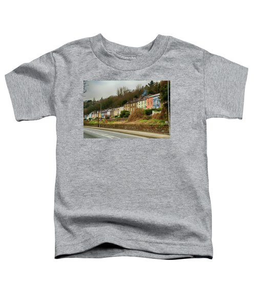 Cork Row Houses Toddler T-Shirt