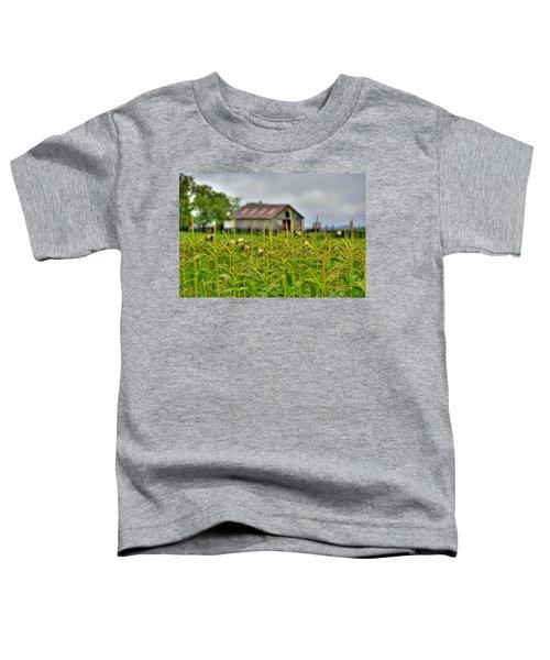 Corn Tops Toddler T-Shirt