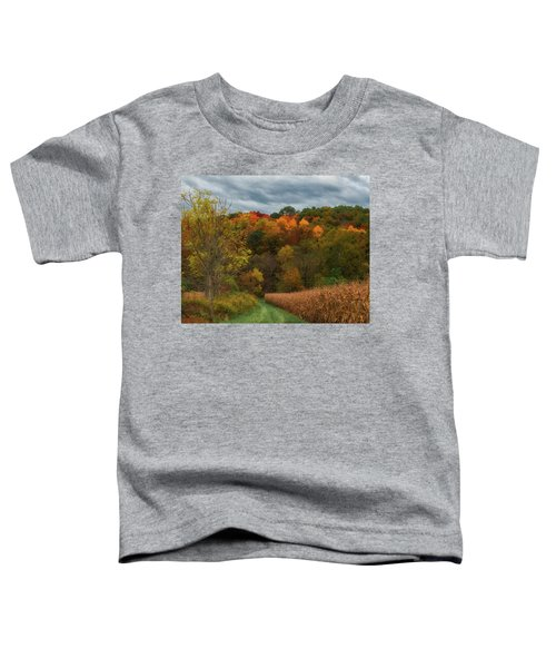 Cornfield In Fall  Toddler T-Shirt