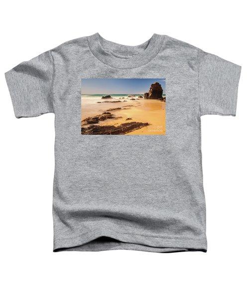 Corunna Point Beach Toddler T-Shirt by Werner Padarin