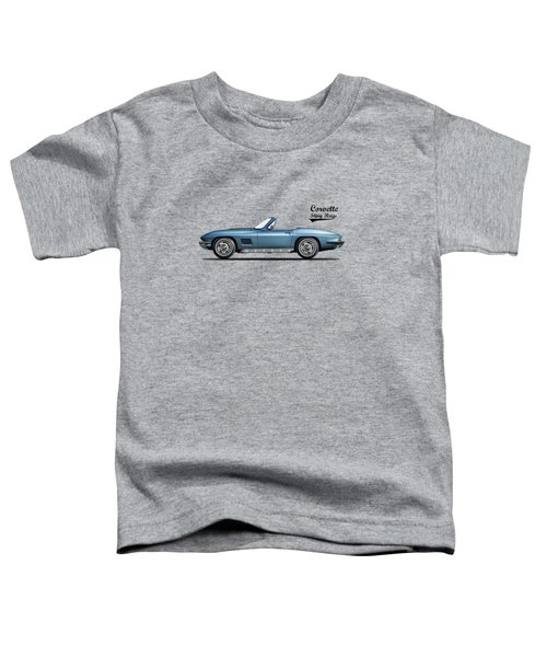 Corvette Stingray 1967 Toddler T-Shirt