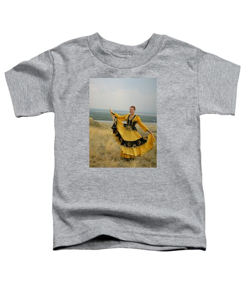 Cossack Young Woman Toddler T-Shirt
