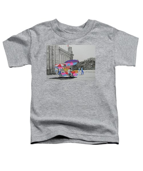 Cotton Candy At The Cne Toddler T-Shirt