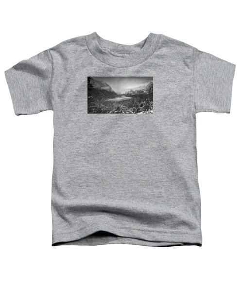 Toddler T-Shirt featuring the photograph Cotton Candy Blankets Yosemite by Lora Lee Chapman
