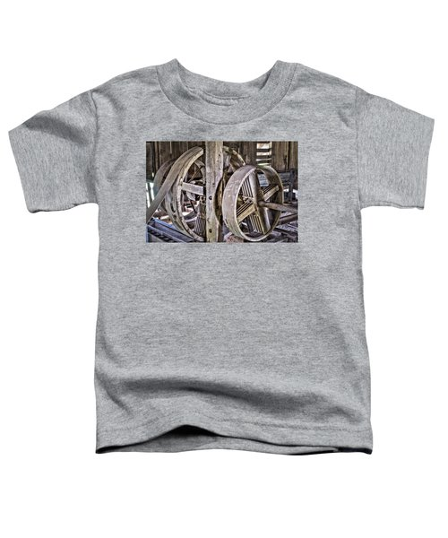 Cotton Gin Pulleys Toddler T-Shirt