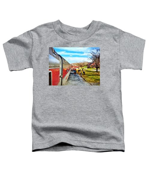 Country Train Depot Toddler T-Shirt