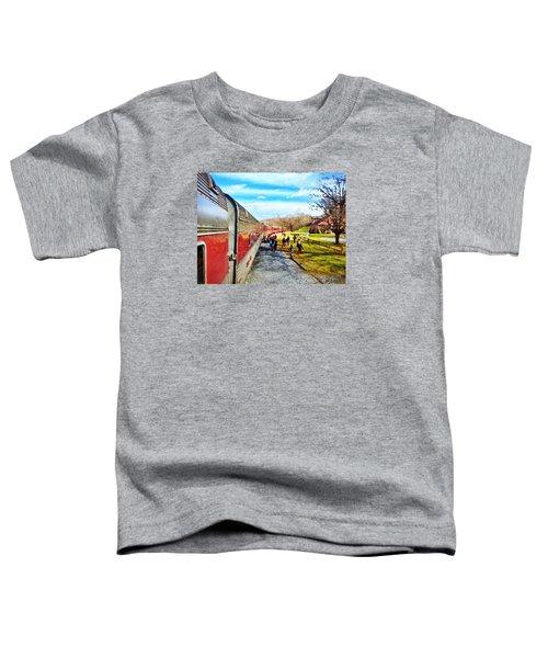 Country Train Depot Toddler T-Shirt