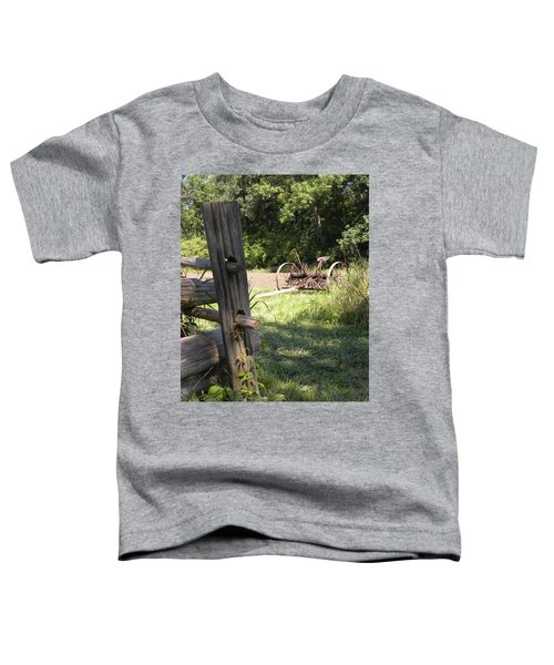 Country Work Toddler T-Shirt
