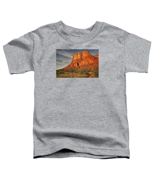Courthouse Butte Txt Toddler T-Shirt